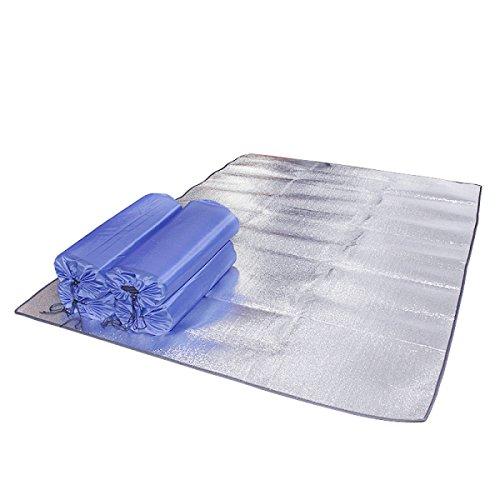 GRAND CANYON Alu Doppel Isomatte Alumatte Isoliermatte 2 Personen Thermomatte