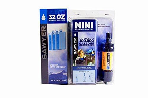 Sawyer mINI filtre à eau original lot de 3 x 1...