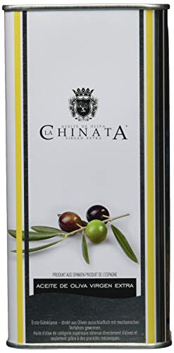 La Chinata Aceite de Oliva Virgen Extra Lata Grande, Natives Olivenöl in attraktiver Dose (1 x 500 ml)