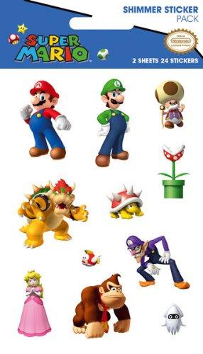 Mario Bros - Juego de pegatinas