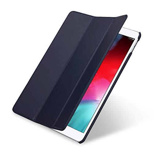 StilGut Leder-Hülle kompatibel mit Apple iPad Air 3, Couverture Case, Blau Nappa (Ipad Case Leder 3)