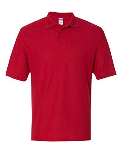 Jerzees Herren 5,3oz 65/35easy-caretm Polo True Red
