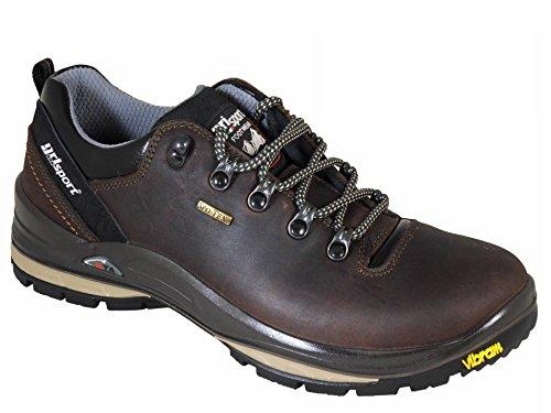 Grisport Warrior Mens Waterproof Walking Shoes with Vibram Sole Brown UK9/EU43