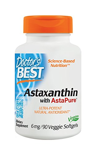 Doctor's Best Best Astaxanthin Softgels, 6 mg, 90 Count