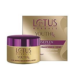 Lotus Herbals Youthrx Anti-Ageing Tranforming Creme, 50g