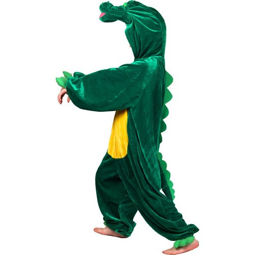 Tier-Kostüm für Kinder Boogie-Woogie Krokodil, Gr. S - Boogie Mädchen Kostüm