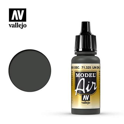 AV Vallejo Model Air 17ml-Ijn nero verde scuro