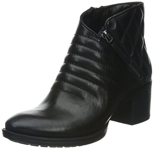 Clarks Movie Retro, Boots femme Noir (Black Leather)