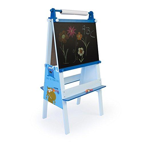 Homestyle4u Kindertafel Maltafel Standtafel Schreibtafel Kinder Tafel Kreide Schultafel