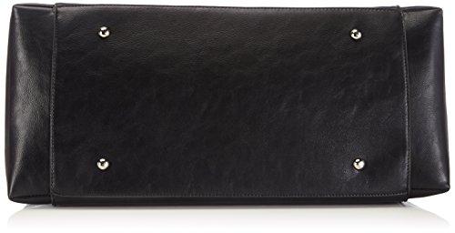 Buffalo BAG BWG-06 PU KID W879-1, Borsa a spalla donna Nero (BLACK 01)
