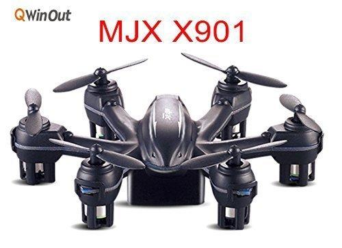 MJX-X901-24G-Mini-RC-Drone-Hexacopter-6-Axis-Gyro-RTF-UAV-3D-Roll-G-Sensor-Control-Headless-Helicopter-Smallest-Aircraft-Black