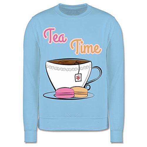 Shirtracer Up to Date Kind - Tea Time - 3-4 Jahre (104) - Hellblau - JH030K - Kinder Pullover
