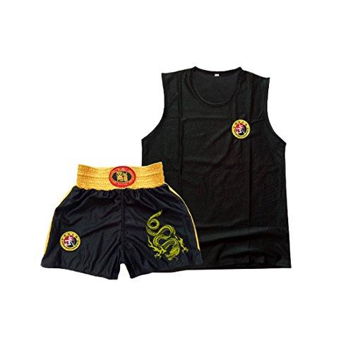 Aiweijia Kinder Sanda Kleidung Jungen & Mädchen Erwachsene Boxen Set Boxing Shorts Muay Thai...
