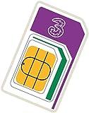 3 12 GB Trio Pay As You Go Moblie Broadband Sim Pack