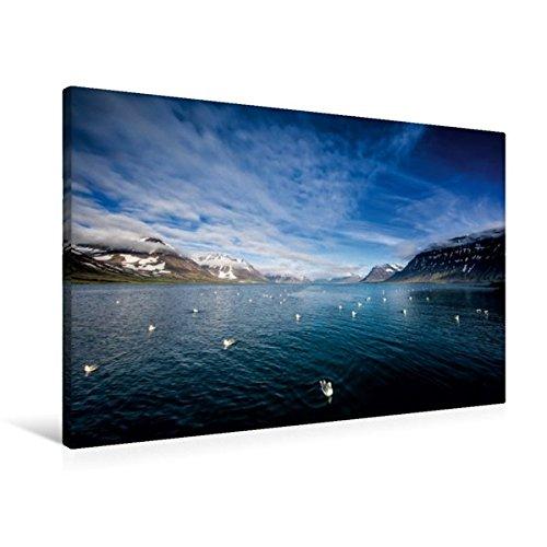 Preisvergleich Produktbild Premium Textil-Leinwand 90 cm x 60 cm quer, Ein Motiv aus dem Kalender Beautiful Nature - Iceland | Wandbild, Bild auf Keilrahmen, Fertigbild auf echter Leinwand, Leinwanddruck (CALVENDO Orte)