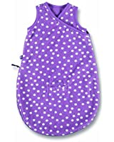 Baby Boum Unisex Baby Lightweight Cotton Rich 1.0 Tog Car Seat/ Sleeping Bag with Random Spotty Design and Sleepsuits