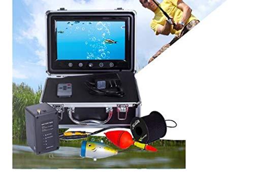Maple Leaf 9-Zoll-Farbvisual Fish Finder 1000 Linie Hd Ibobber-Fischen-Kamera 12 Arten von led-Leuchten verstellbare helle Größe für EIS, See und Bootsfischen