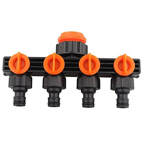 Collecteur Tuyau d'arrosage Splitter Répartiteur Jardin Raccord de tuyau d'arrosage adaptateur tuyau d'arrosage Connecteurs Homebrew pour robinet