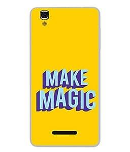 FUSON Designer Back Case Cover for YU Yureka :: YU Yureka AO5510 (Wand Magically Make Differnece To Others Life )