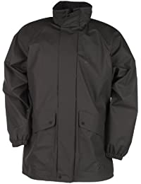 Baleno Arras - Abrigo impermeable negro negro Talla:extra-small
