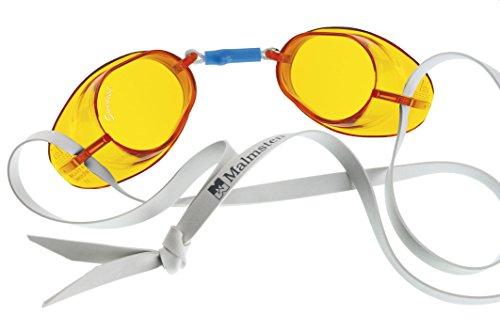 Malmsten–Gafas de estándar, Unisex, color Amber, tamaño n/a