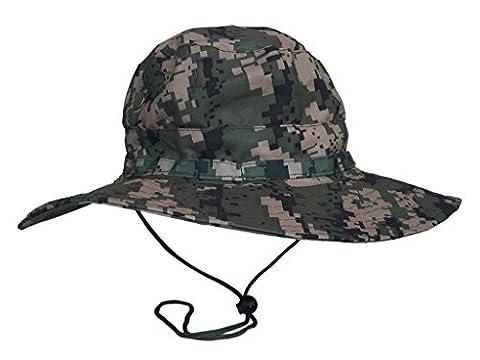 Bigood Chapeau Pêcheur Homme Femme Boonie Hat Camouflage Randonnée Imperméable #3