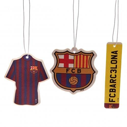 Preisvergleich Produktbild Car Accessories-Offizieller FC Barcelona Lufterfrischer (3Pack)-Neuheit Fußball Geschenk Ideen