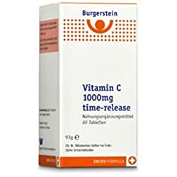 Burgerstein Vitamin C 1000mg Time-release 60 Tabletten (60 St)