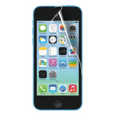 Ewent Kit 3 Pellicole Protettive per iPhone 5C, Trasparente