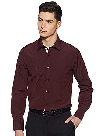 Diverse Men's Printed Slim fit Formal Shirt