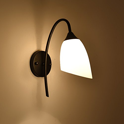Liyan led applique da parete muro lampade da parete illuminazione a parete e26/27 base lampada da parete a camera da letto luce di lettura a led north american style home soggiorno corridoio hotel comodino