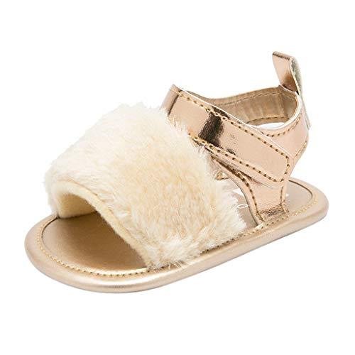 Chelsea Baby-krippe (SEWORLD Baby Schuhe Kinder Krabbelschuhe Lauflernschuhe Hausschuhe Krippe Prewalker Weiche Sohle Anti Rutsch Schuhe Sandalen Sneakers Turnschuhe Segeltuchschuhe Babyschuhe(Beige,18 EU))