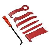 Tuparka 8 Stücke Auto Trim Removal Tool Kit Auto Trim Removal Tool für Auto Dash Radio Türverkleidung Audio Installieren und Entfernen