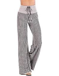Amazon.es  pantalon rayas - Mujer  Ropa 5372d6e7a3c7