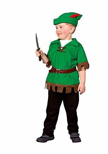 Kostüm Jäger Kinder - Festartikel Müller Kinder Kostüm Jäger Robin Hood Karneval Fasching Gr.98/104