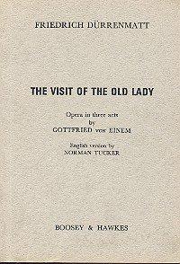 Besuch der Alten Dame Op35. Partitions pour Libret...