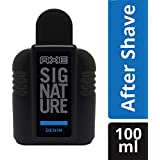 Axe Signature Denim After Shave Lotion, 100 ml