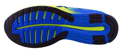 Asics FuzeX, Chaussures de Running Compétition Homme BLEUE JAUNE