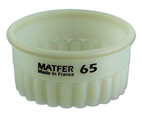 Découpoir rond cannelé exoglass professionnel à 20 mm de diamètre