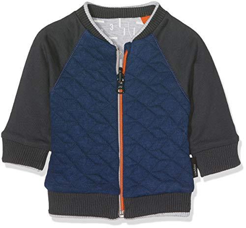 Noppies Baby-Jungen Strickjacke B Cardigan Sweat ls Trenton, Grau (Charcoal C271), 56