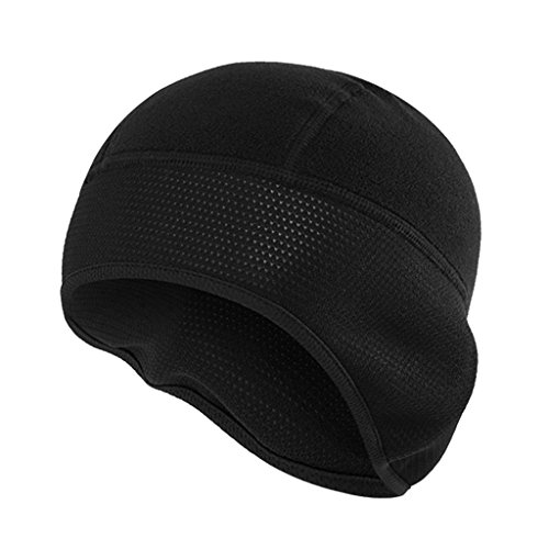 Sharplace Unisex Warm Cap Polar Fleece Helmmütze Winddicht Skull Cap Mütze Radsport...