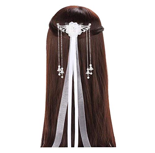 Chinesischen Männer Alten Kostüm - Alte Kostüm-Kopfschmuck-Haarnadel, chinesisches Hanfu-Streamer-Haar-Zubehör, C01