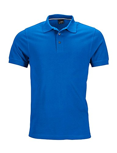Polo shirt qualità premium James & Nicholson Royal