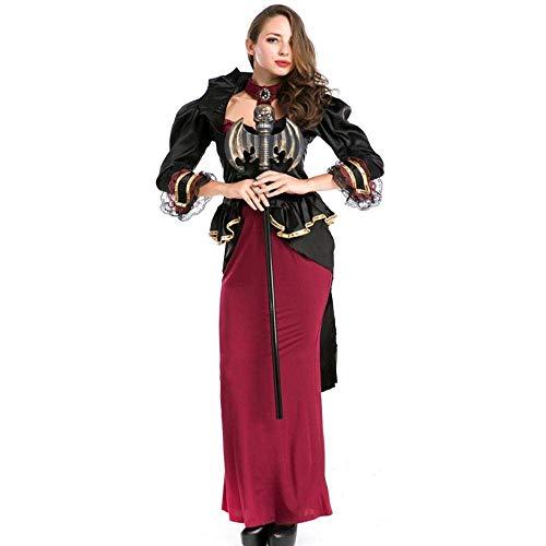 Fashion-Cos1 Neue Hexe Kostüm Anzug Frauen Temperament Nachtclub Ghost Queen Kleid Spiel Kostüme Für Rave Party Bühnenröcke