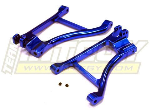 Integy Hobby RC Model T3263BLUE Evolution-5 Front Lower Arm for Traxxas Slayer (not for Pro 4X4 version)