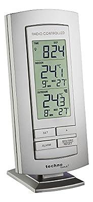 Technoline Wetterstation WS 9140-IT mit Funkuhr und Innen- und Außentemperaturanzeige von Technoline bei Du und dein Garten