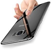 ORLEGOL Cover Samsung S8, Cristallo Cover Samsung S8 Custodia Silicone Morbida TPU Bumper Case Copertura Anti-graffio Protettiva Case Cover per Samsung Galaxy S8 - Trasparente