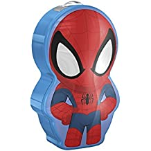 Philips Marvel Spiderman - Linterna LED, luz blanca fría, bombilla de 0,3 W, plástico, color azul