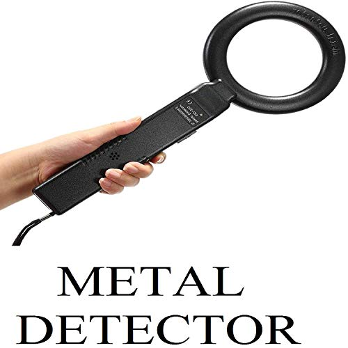 PETRICE High Speed Hand Held Metal Detector MD-300 Airport, Mall, Ofiice Security Detecting Scanner,Handheld Body Scanner