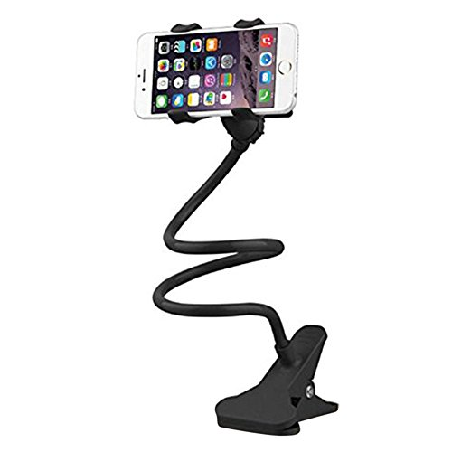 Caolator Soporte para teléfono celular Cuello de cisne Teléfono móvil Clip 360 grados Para el iPhone / 6 / 5s / 5 / 4S / 4, los dispositivos del GPS